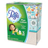 Plus Lotion Facial Tissue, White, 2-Ply, 116/Box, 3 Boxes/Pack