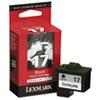 Lexmark™ 10N0217 (17) Ink, 210 Page-Yield, Black LEX10N0217