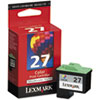 Lexmark 27 Color Inkjet Cartridge