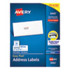 EASY PEEL WHITE ADDRESS LABELS W/ SURE FEED TECHNOLOGY, INKJET PRINTERS, 1 X 2.63, WHITE, 30/SHEET, 100 SHEETS/BOX
