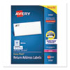 EASY PEEL WHITE ADDRESS LABELS W/ SURE FEED TECHNOLOGY, LASER PRINTERS, 0.66 X 1.75, WHITE, 60/SHEET, 100 SHEETS/PACK