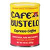 <strong>Café Bustelo</strong><br />Espresso, 10 oz