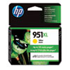 HP 951XL, (CN048AN) High-Yield Yellow Original Ink Cartridge