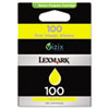 Lexmark 14N0902 100 Return Program Yellow Ink Cartridge