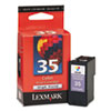Lexmark 35 High Yield Color Ink Cartridge