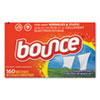 <strong>Bounce®</strong><br />Fabric Softener Sheets, Outdoor Fresh, 160 Sheets/Box