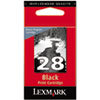 Lexmark 28 Black Print Cartridge, Lexmark Return Program