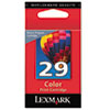 Lexmark 29 Color Print Cartridge, Lexmark Return Program