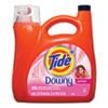 Touch Of Downy Liquid Laundry Detergent, April Fresh, 138 Oz Bottle, 4/carton