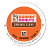 <strong>Dunkin Donuts®</strong><br />K-Cup Pods, Original Blend, 24/Box