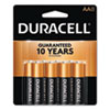 <strong>Duracell®</strong><br />CopperTop Alkaline AA Batteries, 8/Pack