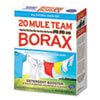 20 Mule Team Borax Laundry Booster, Powder, 4 lb Box, 6 Boxes/Carton