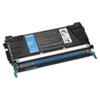 Lexmark™ C5222CS Toner, 3000 Page-Yield, Cyan LEXC5222CS