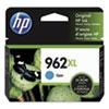<strong>HP</strong><br />HP 962XL, (3JA00AN) High-Yield Cyan Original Ink Cartridge