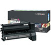 Lexmark™ C7700MS Toner, 6000 Page-Yield, Magenta LEXC7700MS