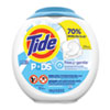 <strong>Tide®</strong><br />Free and Gentle Laundry Detergent, Pods, 72/Pack, 4 Packs/Carton
