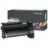Lexmark™ C782X1CG Extra High-Yield Toner, 15000 Page-Yield, Cyan LEXC782X1CG
