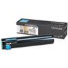 Lexmark™ C930H2CG High-Yield Toner, 24000 Page-Yield, Cyan LEXC930H2CG