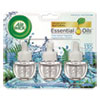 NON-RETURNABLE. SCENTED OIL REFILL, FRESH WATERS, 0.67OZ, 3/PACK, 6 PACKS/CARTON