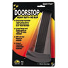 <strong>Master Caster®</strong><br />Giant Foot Doorstop, No-Slip Rubber Wedge, 3.5w x 6.75d x 2h, Brown