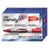 <strong>BIC®</strong><br />Intensity Tank-Style Advanced Dry Erase Marker, Broad Bullet Tip, Assorted, 24/Pack