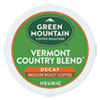 <strong>Green Mountain Coffee®</strong><br />Vermont Country Blend Decaf Coffee K-Cups, 96/Carton