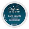<strong>Café Escapes®</strong><br />Cafe Vanilla K-Cups, 24/Box
