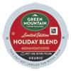 Holiday Blend K-Cups, Medium Roast, 24/Box
