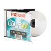 Maxell® CD-RW, Branded Surface, 700MB/80MIN, 4x MAX630010