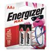 MAX Alkaline AA Batteries, 1.5V, 2/Pack