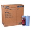ADVANCED SHOPMAX WIPER 450, 11 X 9.4, BLUE, 60/ROLL, 30 ROLLS/CARTON