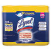 Disinfecting Wipes, 7 x 8, Lemon and Lime Blossom, 35 Wipes/Canister, 3 Canisters/Pack, 4 Packs/Carton