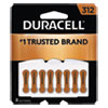 <strong>Duracell®</strong><br />Hearing Aid Battery, #312, 8/Pack
