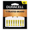 <strong>Duracell®</strong><br />Hearing Aid Battery, #10, 8/Pack