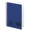 Mead® DuraPress Cover Notebook, College Rule, 7 x 5, White, 80 Sheets MEA06542