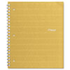 Recycled Notebook, College Ruled, 11 x 8 1/2, 80 Sheets, Perforated, Assorted