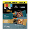 <strong>KIND</strong><br />Minis, Dark Chocolate Nuts and Sea Salt/Caramel Almond and Sea Salt, 0.7 oz, 20/Pack