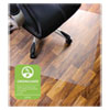 <strong>Floortex®</strong><br />Cleartex Ultimat Polycarbonate Chair Mat for Hard Floors, 48 x 53, Clear