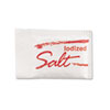 Salt Packets, .75 Grams, 1000 Packets/Box, 3 Boxes/Carton
