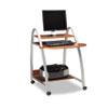 Mayline® Eastwinds Arch Computer Cart, 31-1/2w x 34-1/2d x 37h, Medium Cherry MLN971MEC