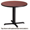 "Bistro Series 30"" Round Laminate Table Top, Mahogany"