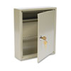 <strong>SteelMaster®</strong><br />Uni-Tag Key Cabinet, 60-Key, Steel, Sand, 10 5/8 x 3 x 12 1/8
