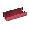 <strong>MMF Industries&#8482;</strong><br />Rolled Coin Aluminum Tray with Denomination and Quantity Etched on Side, Red