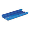 <strong>MMF Industries&#8482;</strong><br />Rolled Coin Aluminum Tray with Denomination and Quantity Etched on Side, Blue