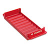 <strong>MMF Industries&#8482;</strong><br />Porta-Count System Rolled Coin Plastic Storage Tray, Red