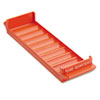 <strong>MMF Industries&#8482;</strong><br />Porta-Count System Rolled Coin Plastic Storage Tray, Orange
