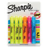 <strong>Sharpie®</strong><br />Tank Style Highlighters, Assorted Ink Colors, Chisel Tip, Assorted Barrel Colors, 6/Set