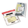 <strong>MMF Industries&#8482;</strong><br />Tamper-Evident Deposit/Cash Bags, Plastic, 9 x 12, Clear, 100 Bags/Box
