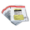 <strong>MMF Industries&#8482;</strong><br />Tamper-Evident Deposit/Cash Bags, Plastic, 12 x 16, White, 100 Bags/Box