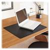 <strong>ES Robbins®</strong><br />Natural Origins Desk Pad, 24 x 19, Matte, Black